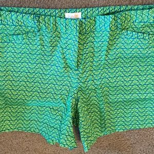 Laundry by Sherri Segal Shorts Sz 8 Geometric